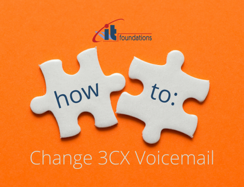 How to change 3CX voicemail