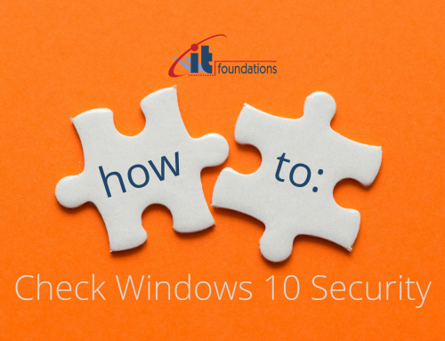 How to check and update Windows 10 Security