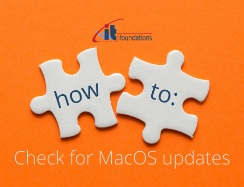 How to: Check for MacOS Updates