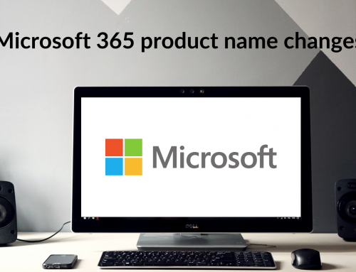 Microsoft 365 product name changes