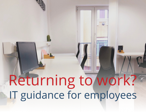 Return to work – IT guidance for employees