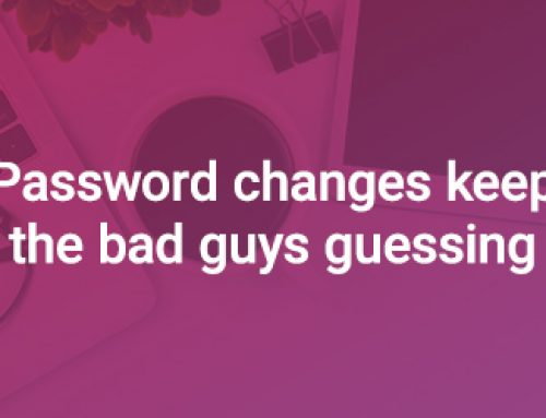 Stay Ahead of Hackers by Changing Your Passwords